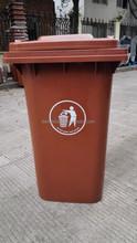 Taizhou Plastic Dust Box15L/25L/50L/100L/120L/240l Coffee Large Trash Bins, Plastic Waste Bins,Car Garbage bins With Wheels