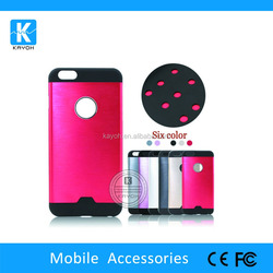 [kayoh] 2015 PC+TPU case for iPhone 6 plus plastic phone case