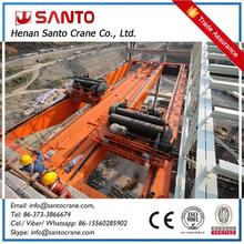 Electric Motor Driven Industry Application Two Girder Eot Traveling Crane