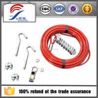 eco-friendly led dog collar & leash for ground