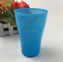 Blue 16OZ plastic stadium cup for beer