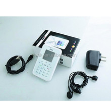 hot selling small size mini cell phone, credit card size M6