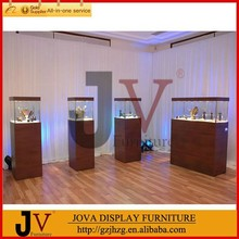 High end jewelry shop display stand and trays