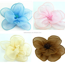 Fashion top sell artificial silk flowers heads craft