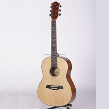 "PT-55 Spruce Plywood 36""Acoustic Guitar from Venice Musical Instrument Factory"