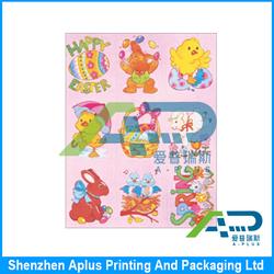 christmas art paper fridge magnet sticker/promotional gift PVC fridge magnet refrigerator magnet