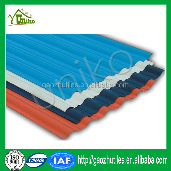 economical antique building material roofing pvc profile