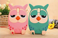 New Style Cute Owl Couples Silicone Case For Samsung Galaxy Note 3/N9006 From Alibaba China