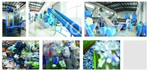 PET bottle flakes washing and cleaning line,pet bottle washing line