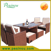 Mould resistant and waterproof rattan on an aluminium rust free frame rattan garden furniture