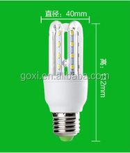 SMD3014 U shape high brightness energy saving led bulb 5W for housing