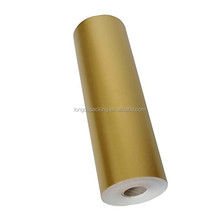 Wholesale Solid Gold Jumbo Roll Gift Wrapping Paper, Large Roll of Gift Roll Wrap Paper