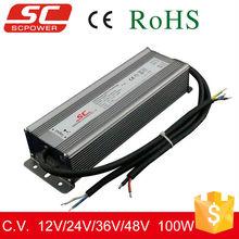 12V 24V 36V 48V 100W DALI led dimming constant voltage driver, perfect DALI led driver