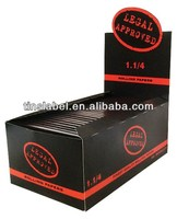 rolling paper Regular 1 1.4 Legal Approved smoking rolling paper with arabic gum