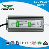 UL approved ISO9001 manufacturer constant current ourdoor waterproof 100w led power supply