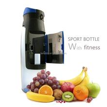 Hot New Blue color wallet water bottle / plastic spout bottle / water storage bottle with holder