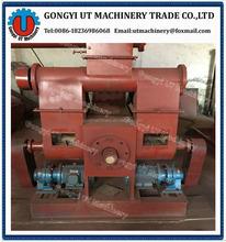 Piston type biomass wood briquette press machine for fuel// skype:utmachinery