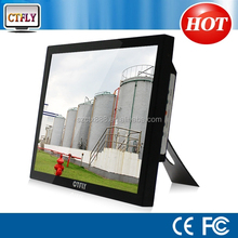 """1000 nit lcd monitor 15"""" monitor touch industry machine with DVI input"""