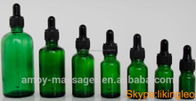 5-500 ml ámbar botella cristal verde botella con tapón a prueba de niños