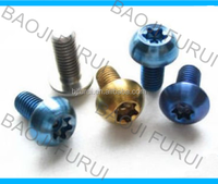 Anodizing Color Titanium Bolt from China