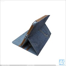 New arrivel Luxury Retro Style Jean Leather case for ipad air