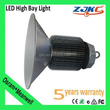 led workshop high bay light Meanwell driver Bridgelux chip CE ROSH IP65 Approved 150w led high bay lamp cheap projector lamps