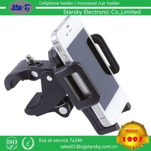 2015 NEW hotsale factory !Bike motorcycle holder for mobile phone holder for USA markets bike accessory