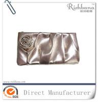 Silver PVC cosmetic bag ladies clutch bag