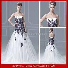 Wd-1889 zweifarbig hochzeitskleid lila und weiß 2015 hochzeitskleid ...
