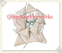 Loud triangle firecrackers or cracker bomb fireworks