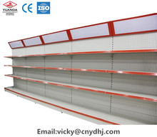 wall supermarket shelf with lamp from manufacturer YD-S006