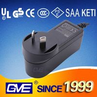 AU Plug Mobile Phone Battery Charger 12V 0.75A With SAA Certification