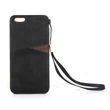 Factory Wholesale Custom PU Leather Cell Phone Covers for iPhone 6