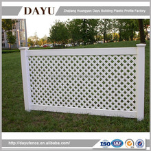 China Supplier Low Price Lattice Fence