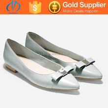 hot sale wholesale light blue ladies dress shoes