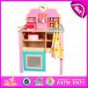 2015 New design kids kitchen set toy,DIY toy children wooden kitchen play set,Non-toxic baby favourite kitchen set toy W10C150
