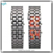 Wholesale lava display light iron fashion for new led light up watches