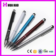 2015 metal touch pen with touch screen head for iphone/ for ipad