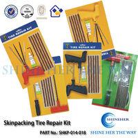 Shin Packing Tools 24 Hour Free Flat Tire Repair Tubeless Tyre for Car Repair