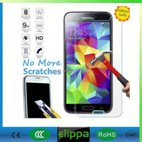 Premium explosion proof 9h 0.3mm hot new products for 2015 tempered glass for mobile phone For Samsung Galaxy s5