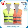 polyester hi-vis safety protection work vest high visibility work vest