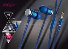 2015 Wholesale Earphone Headphone Headset Super Bass Stereo In-Ear With Mic cellphone MP3 MP4