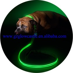 Green LED Light Up Dog Leash
