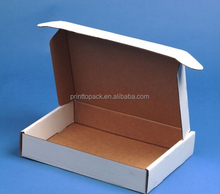 White kraft wholesale shipping packing box