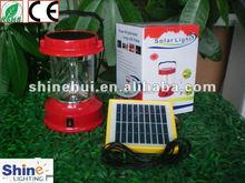 Green Energy saving plastic camping equipment solar lights