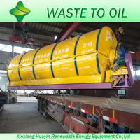 Customized Profitable Used Tyres Pyrolysis Plant To Oil Used in Big Factory With R&D Department