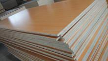 Red Beech/walnut/white/grey Melamine laminated Plywood