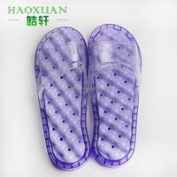 PVC bathroom new design massage slippers plastic anti-slip sandal indoor slipper