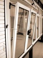 4 Panels Aluminum Sliding Windows With 2 Tracks & NZ Fodoudou Aluminium Sliding Window