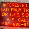 cheap price full color programmable LED dispaly screen moving message for advertising exposed LED moving sign